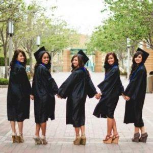 Graduation gowns